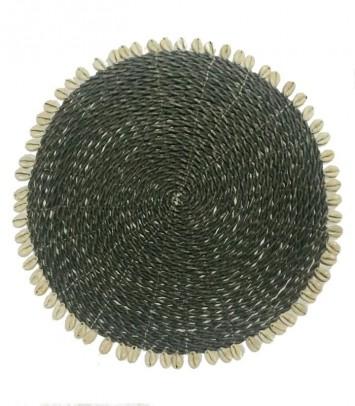 INDIVIDUAL GRIS CON CARACOLILLOS