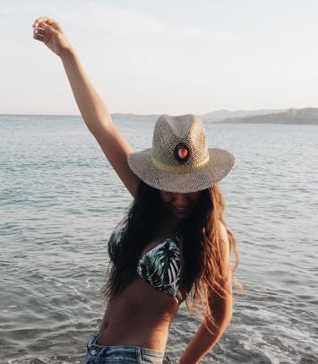"""Sombrero """"IBIZA ROSA"""""""