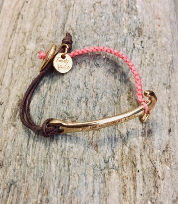 "GOLD ""ANCHOR"" BRACELET"
