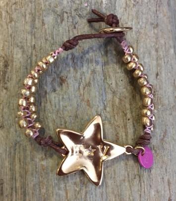 "Macrame bracelet ""NEW GIRU STAR"""