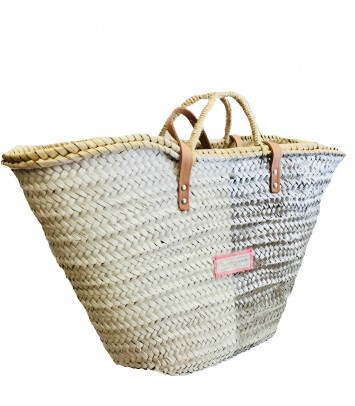 VERTICAL BICOLOR basket