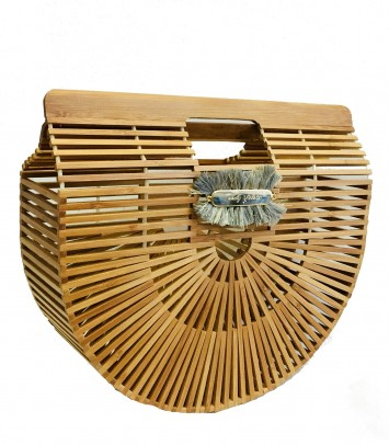 Bamboo bag BULUH CROWN NATURAL