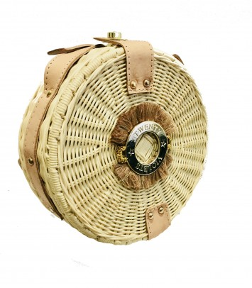 Wicker bag RAW SAKU BULAT