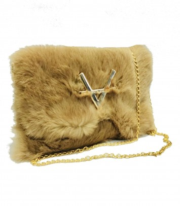"Clutch/Bag ""BAMSE"" BEIGE"