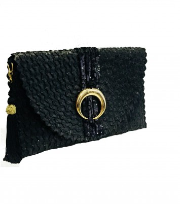 "CLUTCH/BOLSO ""MOON"" ORO"