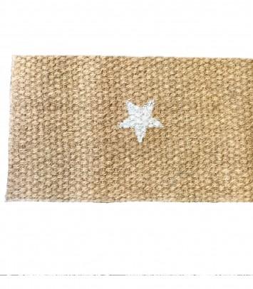 Doormat estrella blanca