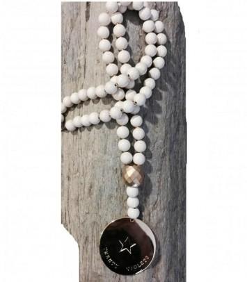 "Necklace ""WHITE BALI"""