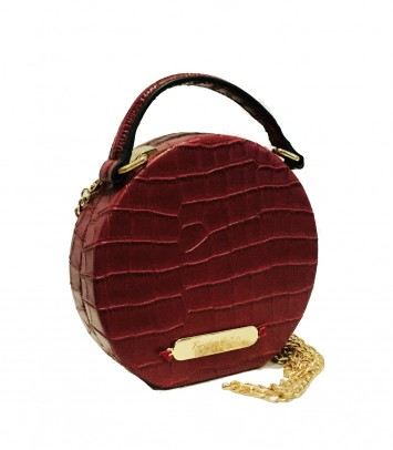 "Leather bag ""ELVIRA"""