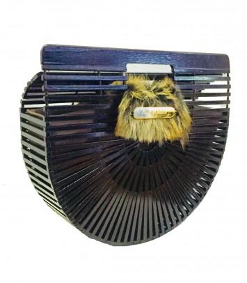 Bolso de bambú SPECIAL BULUH MARRÓN