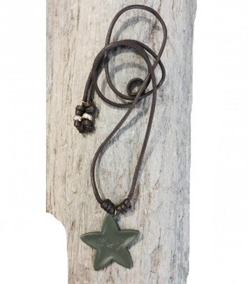 "Necklace""KAKI STAR"""