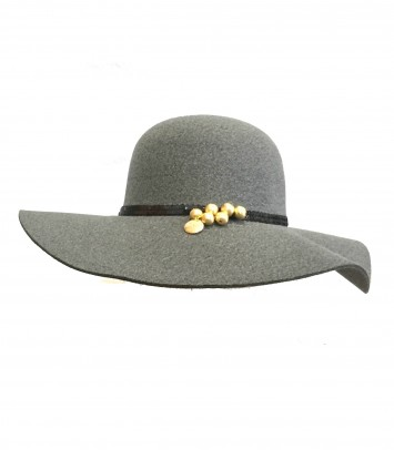 "Pamela/hat ""GREY LUNA"""