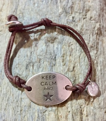 "Pulsera ""KEEP CALM"""