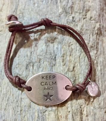 """KEEP CALM"" Bracelet"