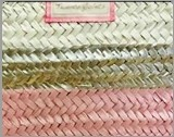 Tricolor Pink/Silver/White
