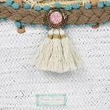 S'agaro White/Turquoise