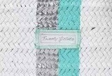 Tweet White/Silver/Turquoise