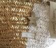 Fotadera Gold/White