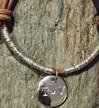 Lurex Brown/Silver