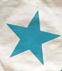 Blanco Roto/ Estrella Turquesa