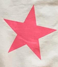 Blanco Roto/Estrella Rosa