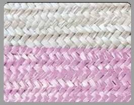 Bicolor White/Pink